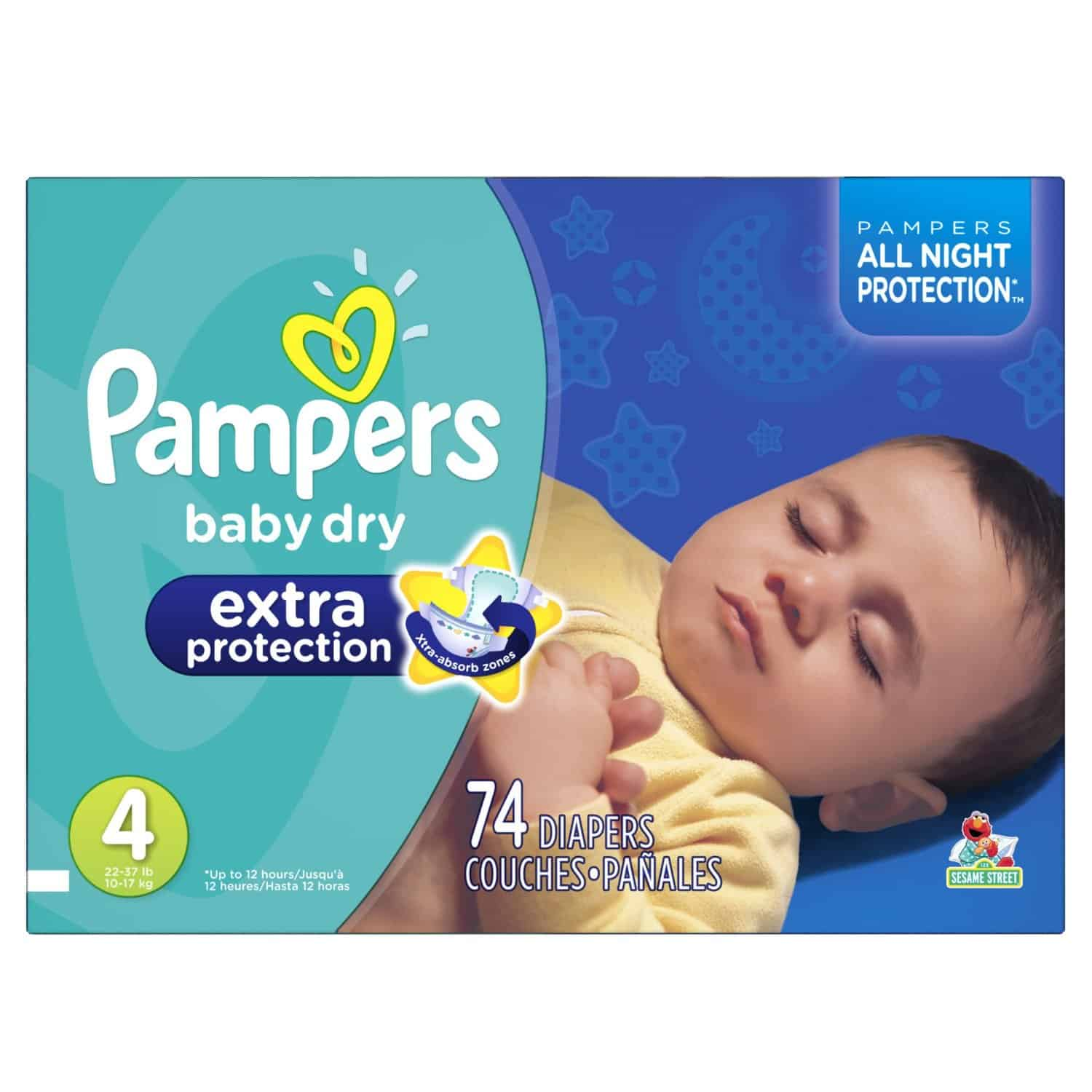 Pampers nighttime diapers coupons